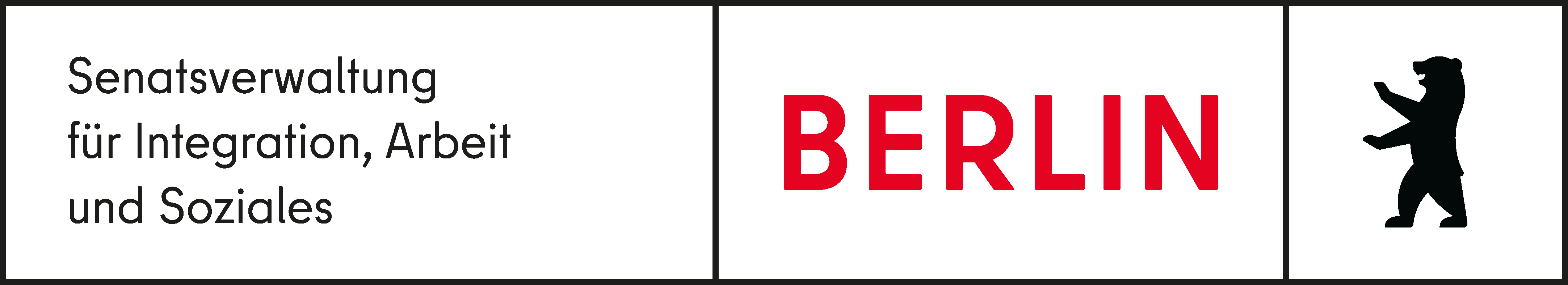 Logo Senatsverwaltung für Integration, Soziales und Arbeit